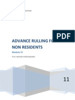 Advance Rulling of Non Residents