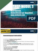 oeticket Affiliate Programm - Modul 3 (Ticketingportal im Partnerdesign)