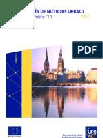 Universidad de Verano URBACT y Hamburgo, capital verde europea. Boletín URBACT septiembre 2011