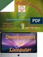 Development of Computer Prahlad