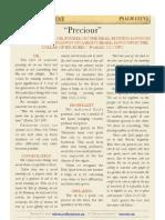 """Psalm 133 v2, """"Precious"""""""