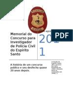 Memorial Concurso Investigador 2011