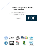 FAO Price Volatility in Food June 2011
