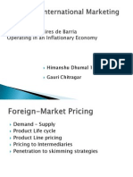 Foreign Market Pricing
