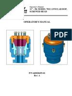 T3 Annulars BOP Operators Manual 7022