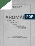 Aromânii  Comerţ, industrie, arte, expansiune, civilizaţie