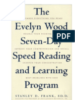 The Evelyn Wood 7 Day Speed Reading Program