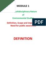 MODULE 1_ Environmental Studies_edited on 10-12-2009