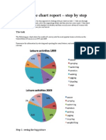A model pie chart report – step by step
