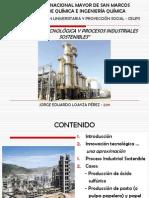 INNOVACIÓN TECNOLÓGICA Y PROCESOS INDUSTRIALES SOSTENIBLES - CEUPS (JORGE LOAYZA)