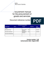 093 e v100 Procurement Manual
