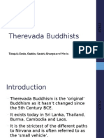 Therevada Buddhists