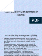 Asset-Liability Management in Banks