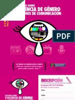"""Jornadas """"Violencia de Género y Medios de Comunicación"""""""