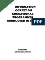 University Programme