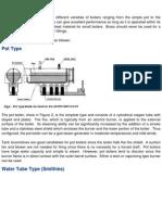 Boilers Types