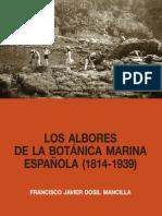 'Los albores de la botánica marina española' de Francisco Javier Dosil Mancilla