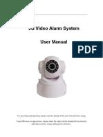3G Video Alarm System User Manual_V4.1
