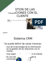Gestion de Las Relaciones Con El Cliente-crm