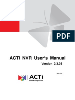 NVR User Manual v2.3.03 AC