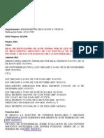 1996-ENE-26 RD 82-1996 Reglamento Orgánico Colegios
