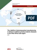 Ghana Pharmaceutical Market