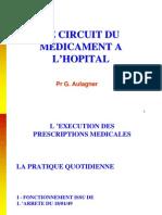Le Circuit Du Medicament a l'Hopital