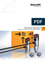 Fluid 215966 Pressure Sensors Brochure