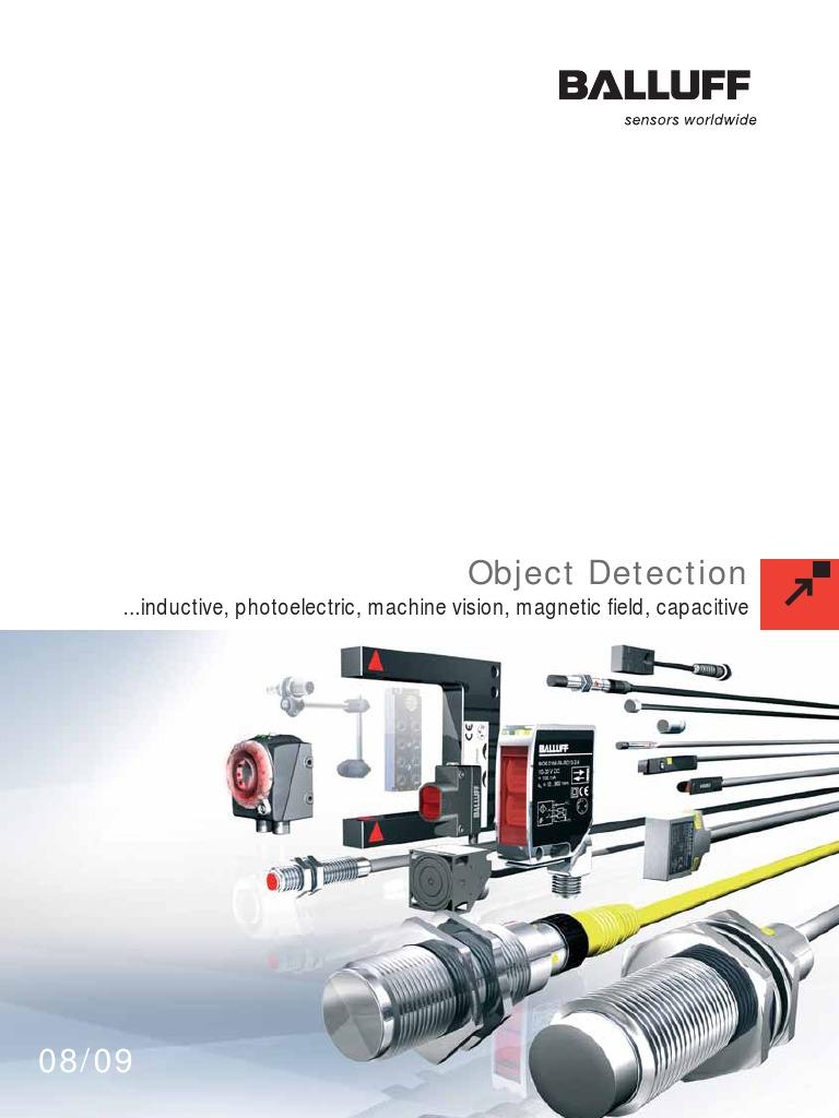 Sensor Balluff BOS 18M-WS-7XA-B0-L 20-250V AC      Sn 100mm