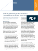 Working With Trade Unions