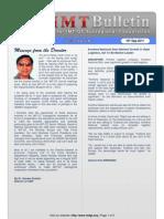 CIMT Bulletin Issue09 Vol02