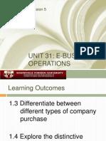 Unit 31 Criteria 1-3&4
