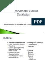Excreta & Sewage Disposal Lect