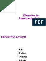 Elementos de Interconectividad