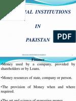 Financial Instit in Pakistan