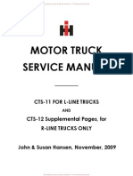 Cts 11-12 Service Manual Complete