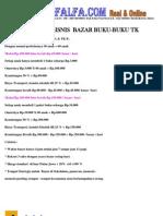 Peluang Bisnis Bazar Buku