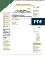 UNE-EN 13121-3_2009. Tanques y depósitos aéreos de plástico reforzado con fibra de vidrio (PRFV). Parte 3_ Diseño y fabricación