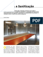 Artigo Sobre Limpeza Na Industria