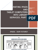 Integrating iPads and Tablet Computers into Library Services