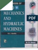 Fluid Mechanics and Hydraulic Machines Dr R K Bansal