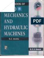 Fluid Mechanics and Hydraulic Machines Dr R K Bansal