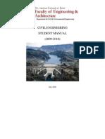 CivilEngineeringStudentManual2009-10