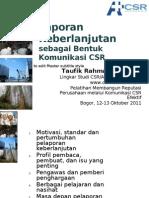 04. Rahman, Jalal_Laporan Keberlanjutan Sebagai Bentuk Komunikasi CSR, Bogor Okt 2011