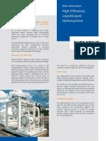 Siemens- Hydrocyclons