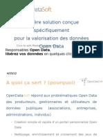 L'Open Data avec OpenDataSoft - 2011