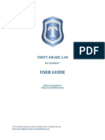 Theft Aware 2 00 User Guide English