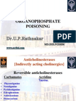 Pharmacology of cholinergic system Class 3 OP Poisoning