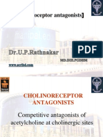 Pharmacology of cholinergic system 4 Anti-muscarinics