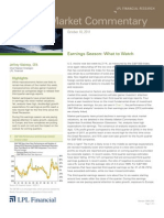 Weekly Market Commentary 10-10-11